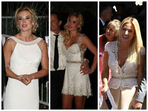 imagenes del vestido de novia de jesica cirio el casamiento de jesica cirio y mart 237 n insaurralde