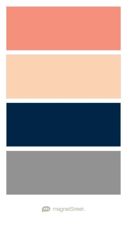 color schemes with navy image result for color palette blush navy gray coral