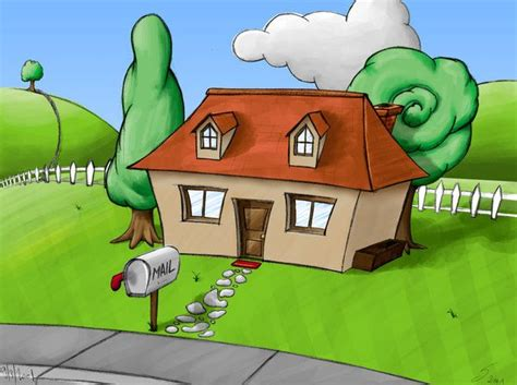 Best House Cartoon Cartoon House Drawings Cute House