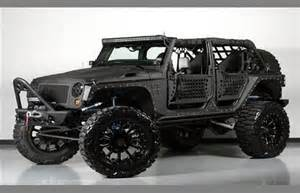Jeep Wrangler Custom Uk This 109 000 Jeep Wrangler Would Scare The Grim Reaper