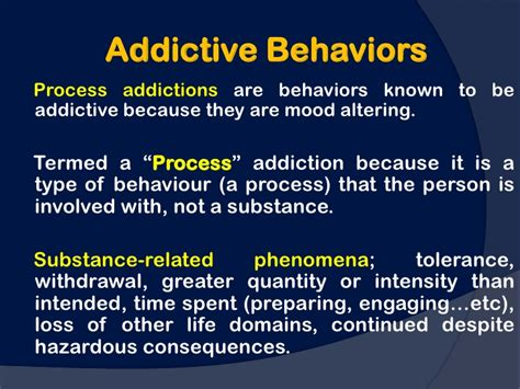 Addiction Detox Process by Process Addictions