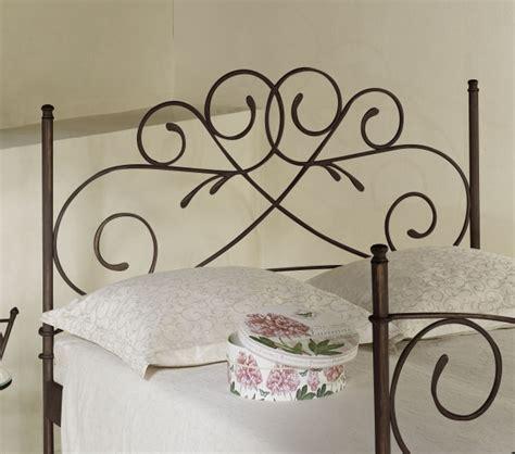kopfteil bett metall doppelbett romantisch z b in braun aus metall amarete
