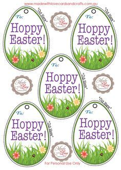 printable easter egg gift tags 1000 images about made with love printables on pinterest