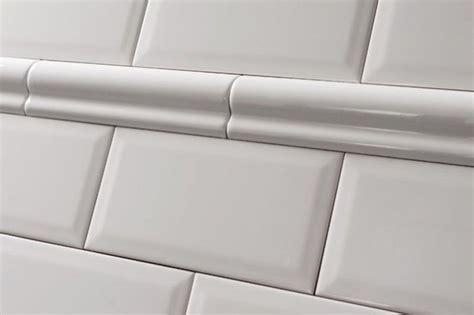 black and white border tiles for bathroom white dado border tile 5x20cm tons of tiles