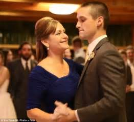 Mother and groom surprise bride with epic dance mash up