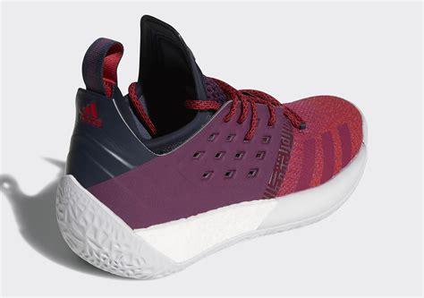 adidas harden vol 2 adidas harden vol 2 quot maroon quot dw5322 closer look release