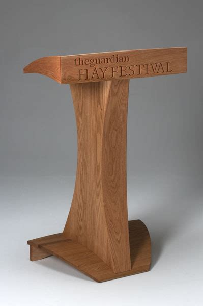 the guardian hay festival stage furniture philip koomen