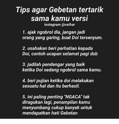 tips  gebetan tertarik sama kamu versi instagram