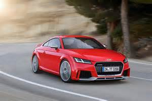 Audi Tt Coupe Price 2017 Audi Tt Rs Roadster And Coupe Bow In Beijing With 400