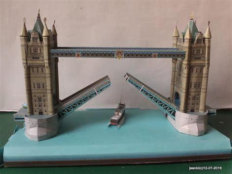 Www Papercraft Au - le tower bridge en papercraft le de jeanbi