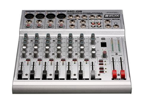 Equalizer Mixer Mc Audio 4 Channel Untra Slim Mixer Wf 4g Usb 1 box electronics mc 08