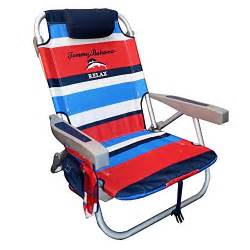 Tommy bahama 2015 backpack cooler chair with storage pouch and towel