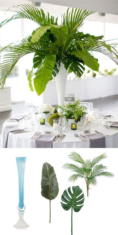 Modern Tropical Centerpiece Recreate this elegant look for