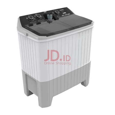 Mesin Cuci 2 Tabung Panasonic jual panasonic mesin cuci 2 tabung na w120bbx2h jd id