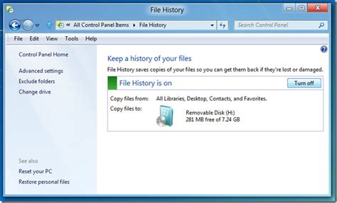 backup image the complete guide to windows 8 file history backup
