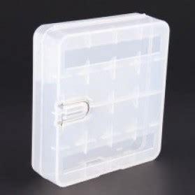 Casing Baterai Transparent For 2x16340 casing baterai transparan untuk 4x18650 transparent jakartanotebook
