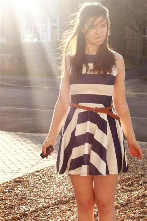 Dress Miso Stripe your republic abby looks fab in a nautical dress paperblog