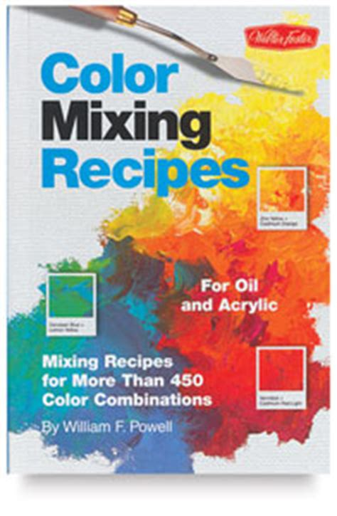 acrylic paint mixing recipes color mixing recipes for and acrylic blick materials