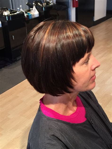 rich brown bob hair styles dark brown with golden caramel highlights and rich brown