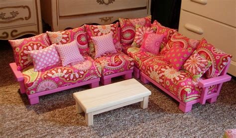 Doll Couch Chair Sectional Living Room Furniture For Doll Living Room Furniture