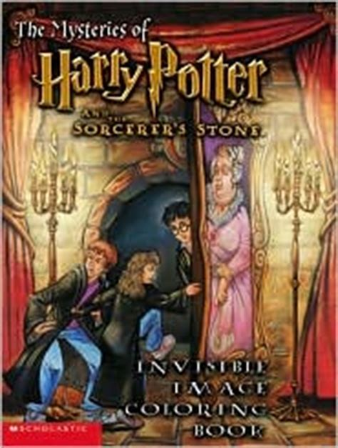 harry potter coloring books barnes and noble the mysteries of harry potter and the sorcerer s