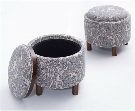 Stool After Coffee by Le Quatre Storage Stool Is A Chair Ottoman And Coffee