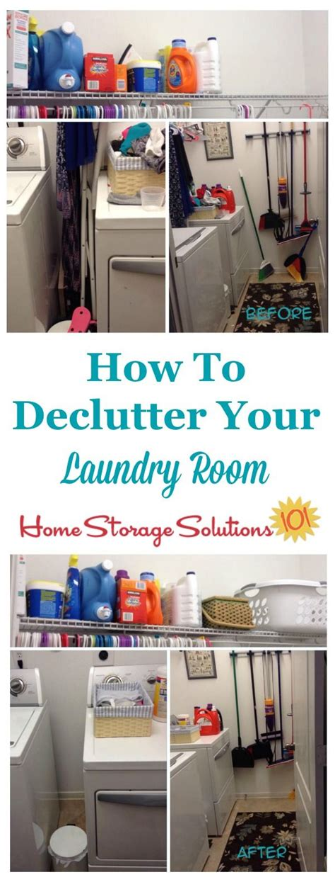 how to declutter a room how to declutter your laundry room home home storage solutions and declutter