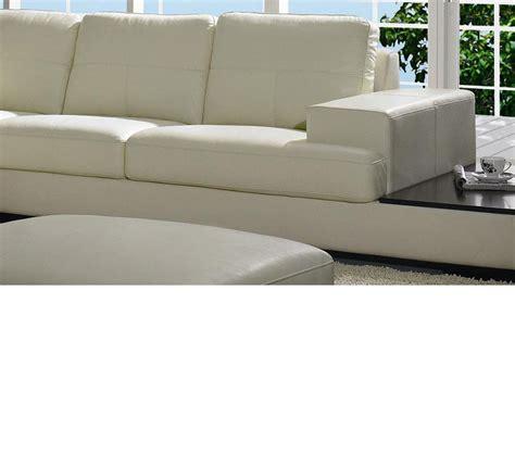 modern leather sofa sets dreamfurniture divani casa 3893 modern leather
