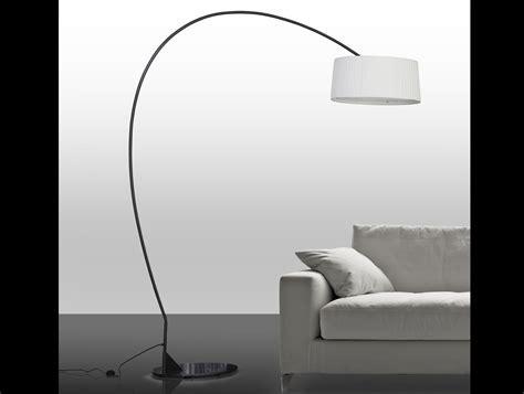 Divina Contardi Arco FL Floor Lamp in Bronze Lacquer