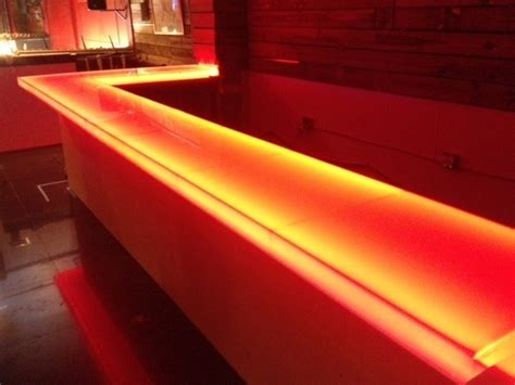 Illuminated Bars by Led Illuminated Lighted Bar Top Design Store
