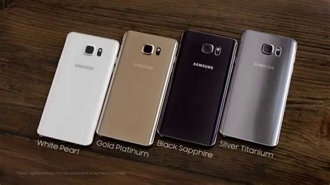 Samsung Clear Note 5 Gold samsung galaxy note 5 gold silver black and white official