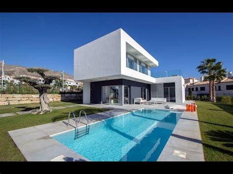 cortina benidorm modern villa with pool in cortina benidorm