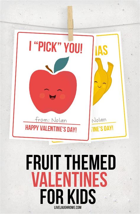 fruit valentines fruit valentines for live laugh rowe