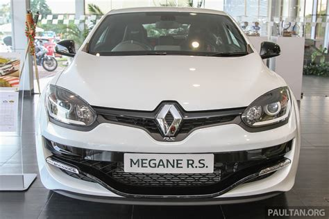 renault malaysia renault megane rs 265 cup on sale in m sia rm235k
