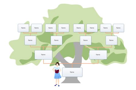 family tree template for kids project kids family tree