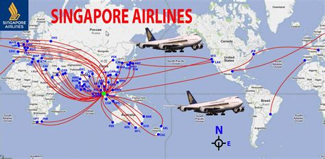flight route map from india to usa singapore airlines route map world international