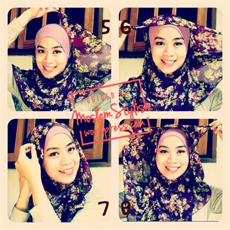 tutorial hijab chiffon hijab tutorial for chiffon shawl again part 9