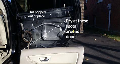 94 car door wont open method 1use your shoelace