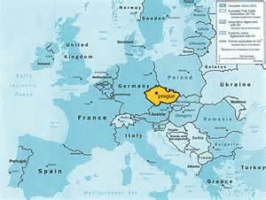 Prague World Map by Prague Map Of Europe