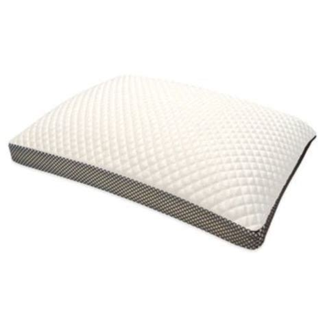 King Size Side Sleeper Pillow by Therapedic Trucool Memory Foam Side Sleeper Pillow White