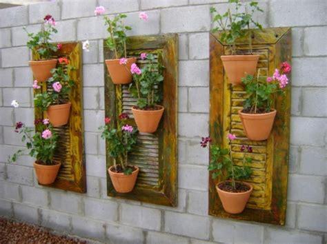 decoracion paredes jardin 40 pequenos e econ 243 micos jardins para decorar as suas paredes