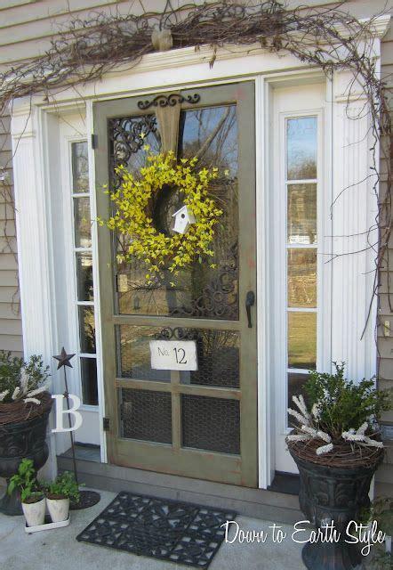 Front Door Screen Doors 27 Cool Front Door Designs With Sidelights Shelterness