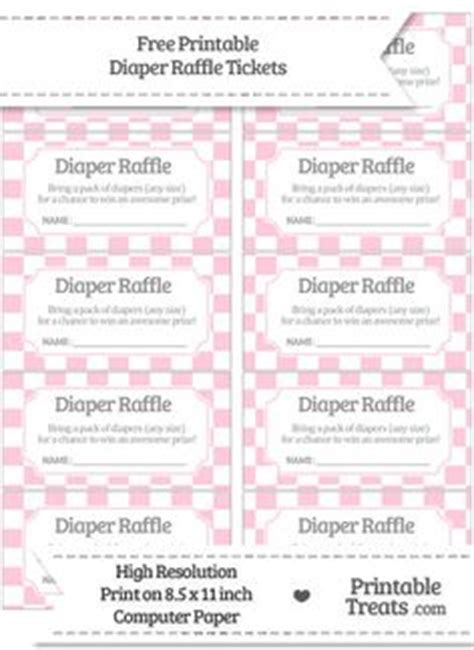 free printable diaper raffle tickets for baby shower