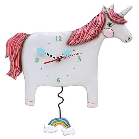 unicorn swing buttercup unicorn clock allen designs studio