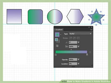 adobe illustrator linear pattern how to make gradients in adobe illustrator 10 steps