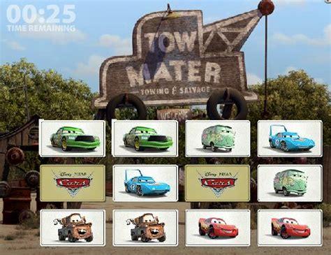 cars maters memory  game