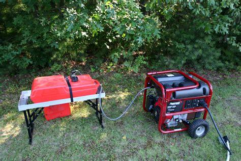 boat fuel tank generator field day 2012