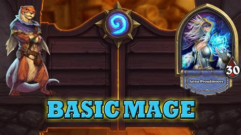 mage basic deck hearthstone deck guide starter mage basic cards only