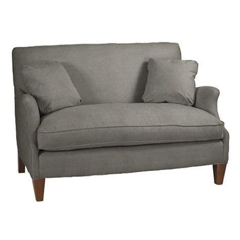 hudson settee hudson upholstered settee ballard designs for the home