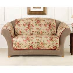 sofa covers sure fit 174 floral sofa pet cover 292857